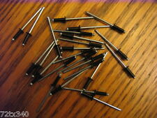 Vintage Snowmobile Ski-doo Black Rivits 50pcs 1/8 rivets new!!