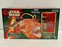 """Star Wars Opee and Qui-Gon Jinn set Hasbro Action figure 1998 3.75"""" Episode 1"""