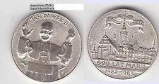 Polaco Kath. misión, el papa juan pablo ii.? qué clase de lugar medalla probablemente unedel