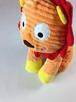 "Gund Baby Happi Lion Large 15"" Colorful Plush Happy Cordy Orange Red Stuffed Toy"