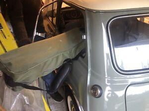 Modified mini mk1 rear window quarter light catch bmc chrome brass classic