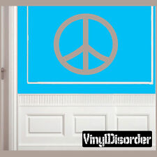 Peace Sign Shapes Vinyl Wall Decal Sticker Mural Quotes Words -sh016