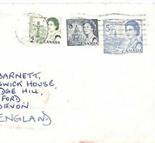 XX57 1971 CANADA STATIONERY Toronto QEII TRIPLE FRANKING Commercial Air Cover