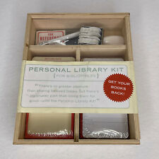 New ListingPersonal Library Kit Book Borrow Return Card Rubber Stamp Crafting Bibliophile