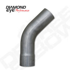 "Diamond Eye Performance 4"" STAINLESS UNIVERSAL 45 DEGREE ELBOW"
