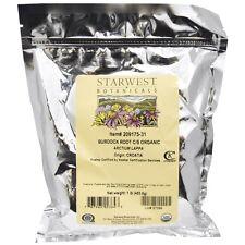 Organic Burdock Root C/S, 453.6 grams