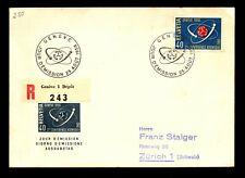 Switzerland 1958 Atomic Conference FDC - L9130