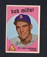 1959 Topps #379 Bob Miller EXMT/EXMT+ C0004874