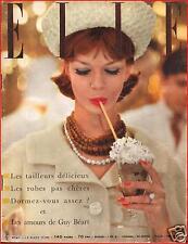 ▬►Elle 691 (1959) Romy Schneider_Alain Delon_Guy Béart_Dalida_Mode Fashion