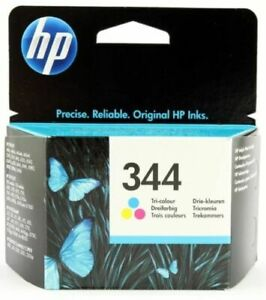 GENUINE AUTHENTIC HP HEWLETT PACKARD HP 344 C9363EE COLOUR INK CARTRIDGE