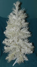 Vintage Glittery White Artificial Tree With Lights! Christmas