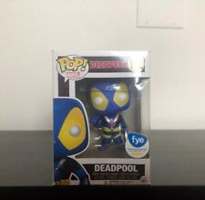 FUNKO POP! MARVEL DEADPOOL BLUE X-MEN #112 FYE EXCLUSIVE BOBBLEHEAD THUMBS UP DS