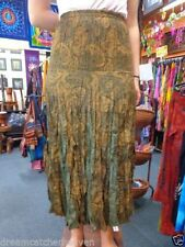 Unbranded Rayon Paisley Long Skirts for Women
