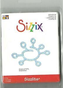 Sizzix SIZZLITS Die SCRIBBLES #2 Stu Kilgour 654809 Discontinued Retro Space Age