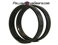 Seamless Follow Focus/Zoom Gear Ring Set for Canon EF 8-15mm f1.4 EF L USM Lens