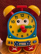 The Learning Journey Telly The Teaching Time Clock Electronic Primary Colors