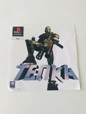 SONY PLAYSTATION PS1 LIFEFORCE TENKA FRONT INLAY ONLY NO GAME   free postage