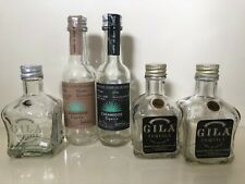 Miniature tequila bottles,empty. Casamigos and Gila. Bought in Usa.