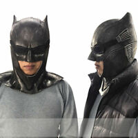 Justice League The Batman Latex Helmet Mask Cosplay Props Halloween Fancy Ball