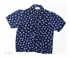 Polyester Geometric Casual Vintage Tops & Shirts for Women