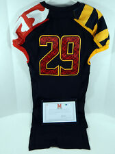 2012 Maryland Terrapins #29 Game Issued Black Jersey Dp01138