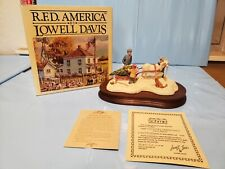 New Rare Lowell Davis 1988 Country Christmas Figurine Ltd 500/2500 Schmid