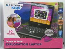 DISCOVERY KIDS TEACH & TALK EXPLORATION LAPTOP, COLOR PINK , NEW SEALED