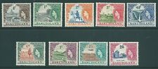 BASUTOLAND 1954 QE2 mint short SET to 2/6
