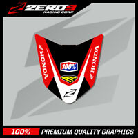 HONDA CRF 250 2010 - 2017 450 2009 - 2016 FRONT FENDER DECAL MX GRAPHICS TI
