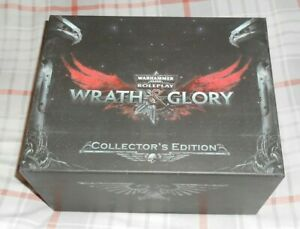 Warhammer 40,000 Roleplay Wrath & Glory Collector's Edition Box Set 40K and RPG