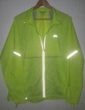 Kathmandu Windforce / Lite Ace Pro - Green Fluro Reflective Windbreaker Jacket