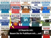 @@@ 12 Reporte Ebooks mit PLR Lizenz Bauen Sie ihr Publikum mit.......auf  @@@