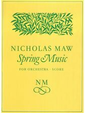 Spring Music Score Learn to Play Birthday Present GIFT SHEET MUSIC BOOK
