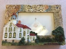 Grand Traverse Michigan Lighthouse Picture Frame New With Tags