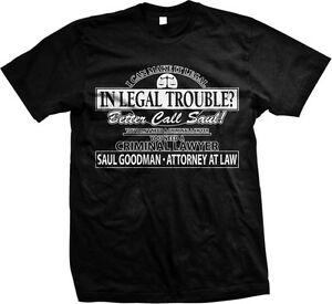 Better Call Saul Attorney At Law- Breaking Bad Saul Goodman -Men's T-shirt