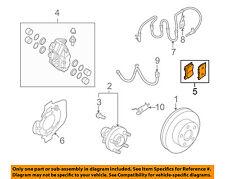 NISSAN OEM Brake-Front Pads D1060JL00J