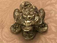 Vintage - Solid Brass - Chinese Dragon-Paperweight