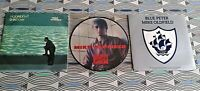 "3  X Mike Oldfield  7 "" Singles   2 PICTURE SLEEVES 1 PICTURE DISC ALL VINYL EXC"