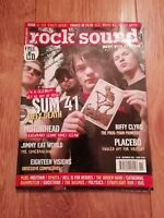 ROCK SOUND MAGAZINE ( 66 ) NOVEMBER 2004 SUM 41 MOTORHEAD PLACEBO BIFFY CLYRO