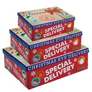 Christmas Eve Gift Box Special Delivery / Flat Pack - Choose Size
