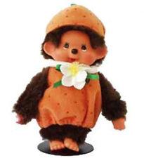 "Sekiguchi Monchhichi Boy Fruit Costume Orange 8"" Plush Doll Official EX297503 US"