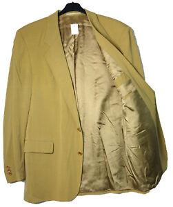 Hugo Boss Sakko Gr.106 White Label Blazer Anzug-Jacke Jacket mit Mängel Gelb J17