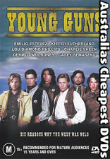 Young Guns DVD NEW, FREE POSTAGE WITHIN AUSTRALIA REGION 4