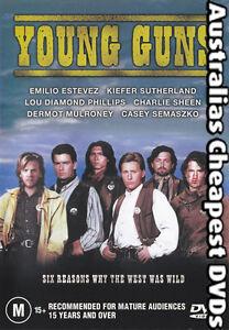 Young Guns DVD NEW,  REGION 4