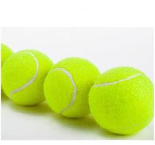 General Training Tennis Balls Sport Unisex Yellow 5pcs Ball Pack Pet Playing Lot