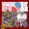 Anime Sailor Moon Metal Oval Hand Held Makeup Mirror Mange Wand Girl Crown BLUE