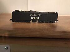 Bachmann Ho Santa Fe Steam Locomotive Tender