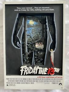 *RARE* FRIDAY THE 13TH 3D Movie Poster 2007 McFarlane Pop Culture Toys