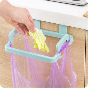 Trash Rack Storage Garbage Bag Holder Cupboard Door Back Kitchen OrgnizerBDBI