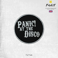 Panic At The Disco Music Band Logo Patch Iron On Sew On Badge Embroidered Patch